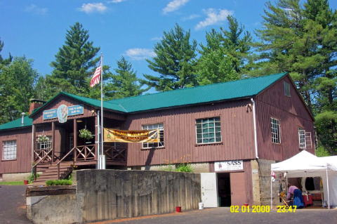 clubhouse The Pemigewasset Valley Fish & Game Club, Holderness, NH