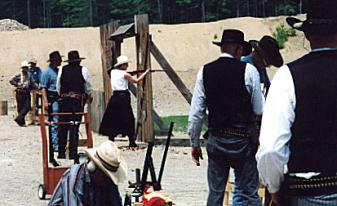 cowboy Covered Firing Line Pemigewasset Valley Fish & Game Club