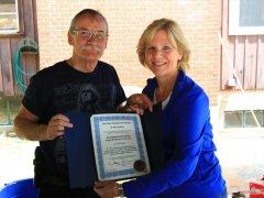 75th Anniversary Award Senator Jeanie Forrester Gary (Skip) Maloney